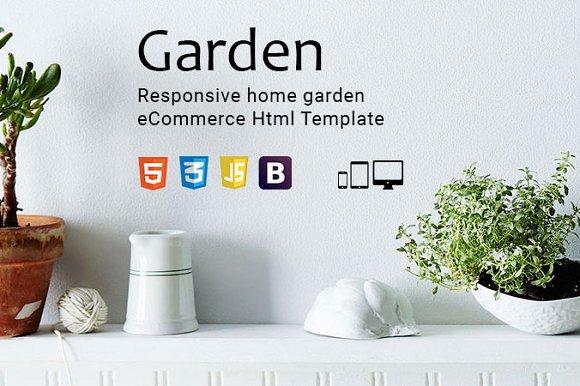 Garden ECommerce Html Template