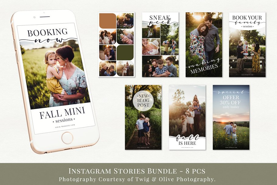 Instagram Stories Bundle vol.1  in Instagram Templates - product preview 8