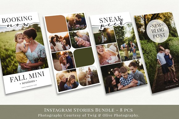 Instagram Stories Bundle vol.1  in Instagram Templates - product preview 1