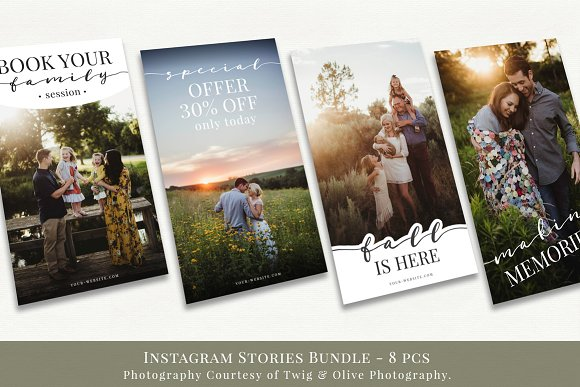 Instagram Stories Bundle vol.1  in Instagram Templates - product preview 2