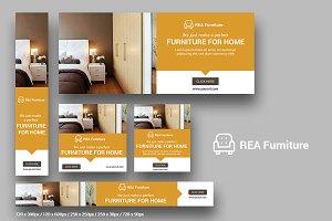 REA Furniture - Web Banner - SK