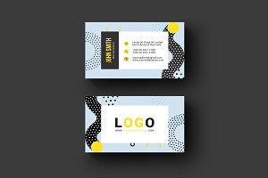 Memphis Business Card