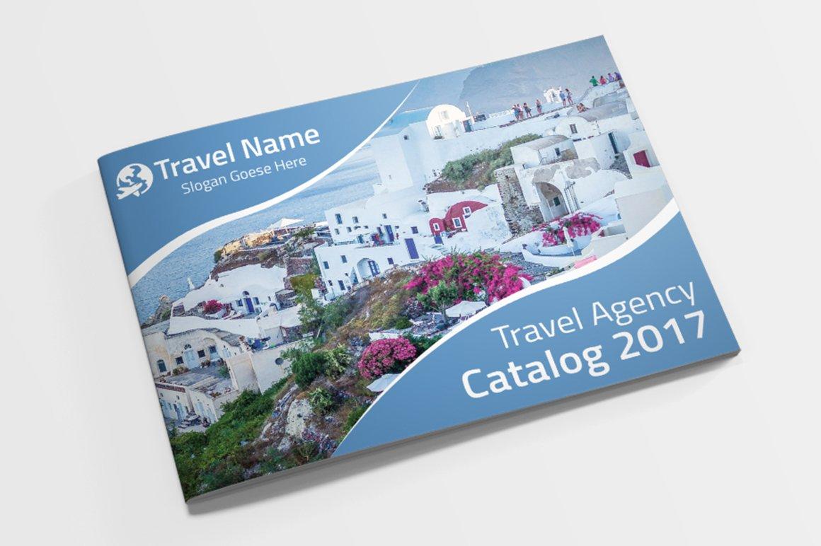 travel agency brochure catalog brochure templates creative market