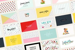 20 Colorful Business Card Templates