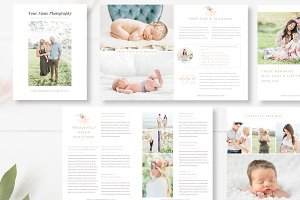 Kids Photography Magazine Template