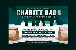 Charity Blessing Bag Flyer