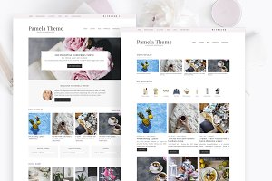 Pamela - Feminine Blog & Shop Theme