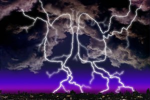 Lightning Storm Lungs