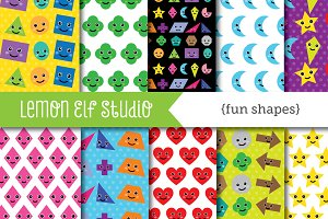 Fun Shapes Paper (LES.DP44)