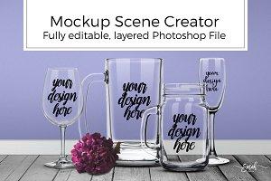 Styled Mockup Scene Creator Bundle
