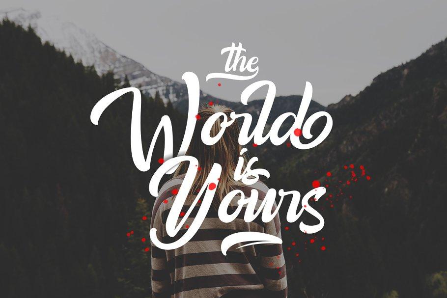 Best Amigos Typeface Vector