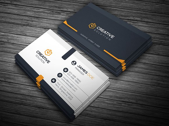 Creative Solution Business Card Templates Market
