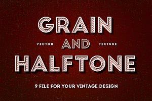 Grain & Halftone Texture