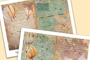 Faded Foliage Junk Journal Kit