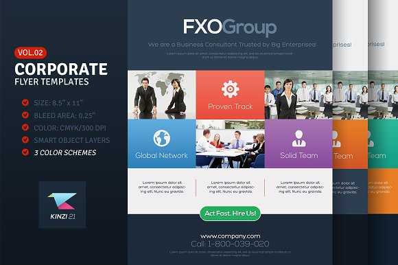 Corporate Flyer Templates Vol.02 - Flyers