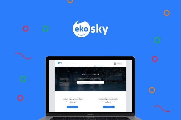 Ekosky Help Support Theme Design