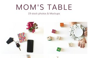 Mom's Table (19 Stock Photos)