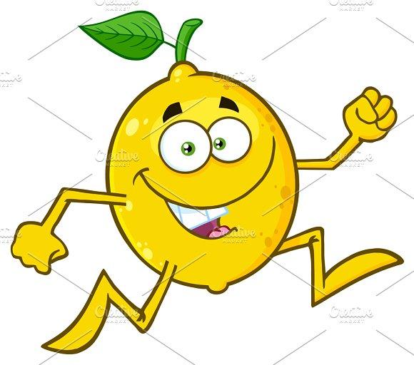 Healthy Yellow Lemon Fresh Fruit