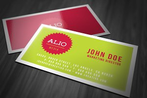Minimalistic Business Card