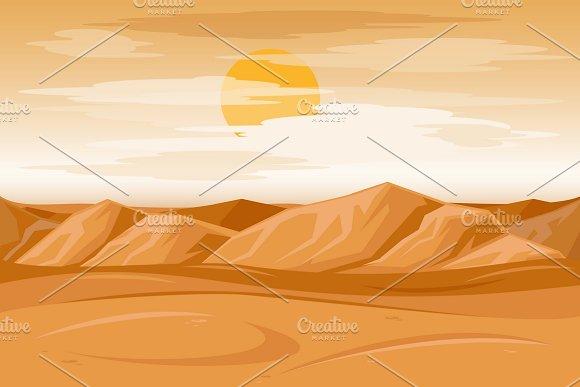 Desert Mountains Sandstone