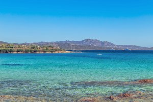 Beach in Costa Smeralda