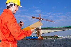 Industrial construction concept
