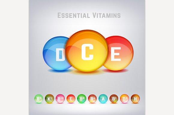 Vitamins Set Image