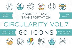 Circularity Icons Volume 7