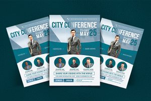 City Conference Business FLyer