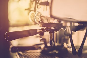 Espresso coffee maker machine