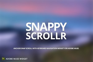 Snappy Scrollr - Adobe Muse Widget