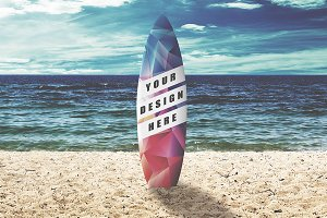 Surfboard Mock-up #1