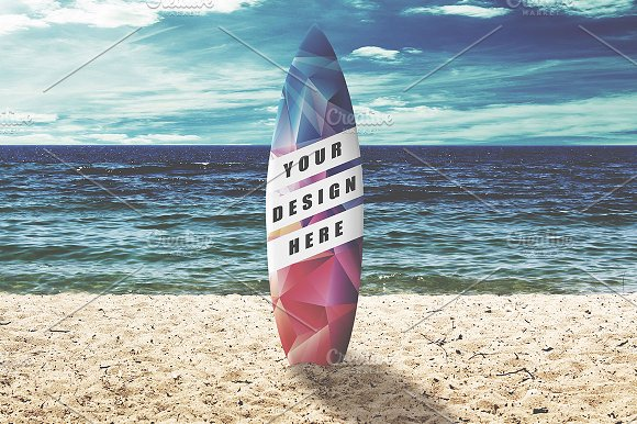 Surfboard Mock-up #1