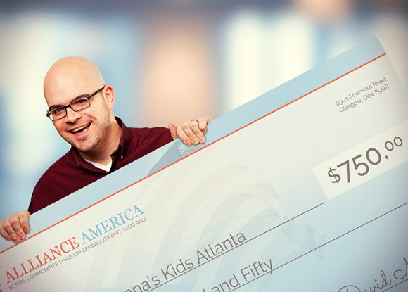 new approach big check template presentation templates creative