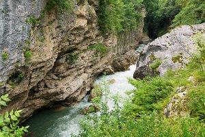 Canyon of Belaya River
