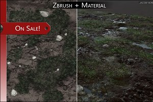 SALE! - Zbrush+Textures - Grass