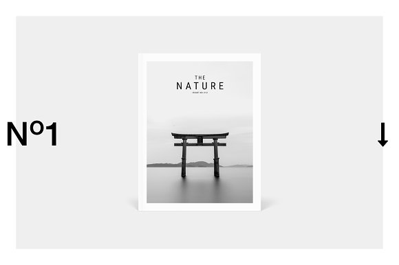 Nature Magazine-Graphicriver中文最全的素材分享平台