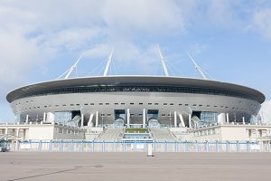 stadium Zenit arena, most expensively in the world, the FIFA World Cup in 2
