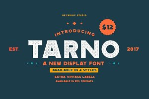 Tarno Display Font