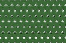 Royal lily pattern