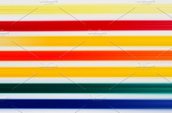 Horizontal Colorful Lines Illustration Background