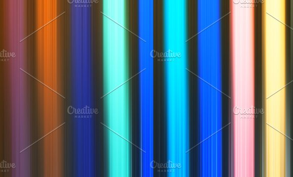 Vertical Colorful Pale Lines Background