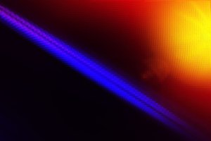 Diagonal purple line with light leak illustration background
