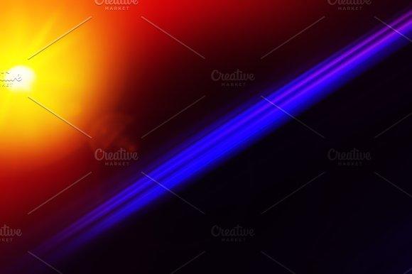 Diagonal Purple Line With Light Leak Illustration Background