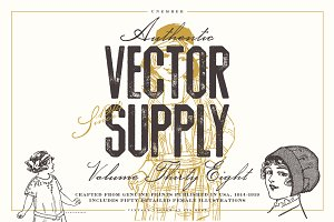 Unember Vector Supply Volume 38