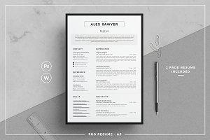 Resume/CV - AS