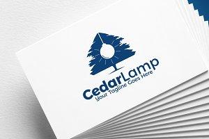 Cedar Lamp | Logo Template