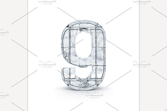 Digit Made Out Of Ice