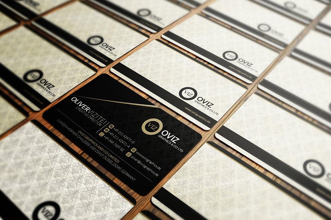 Classy Business Card ~ Business Card Templates ~ Creative Market