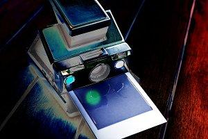 Vintage instant camera